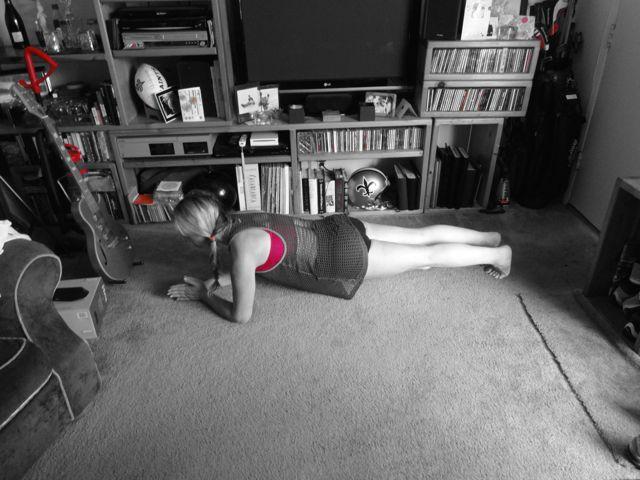 Regular Plank - Forearm
